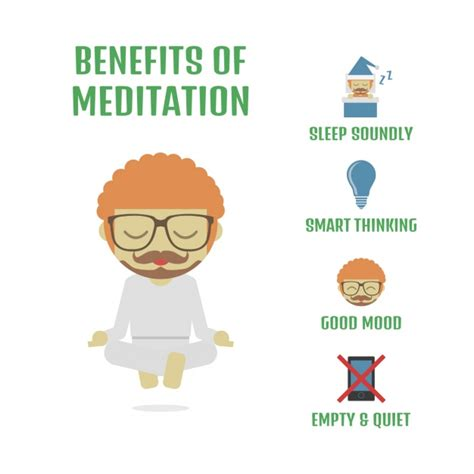 Beneficios de la meditación | Descargar Vectores gratis