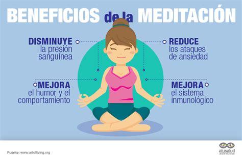 Beneficios de la meditación en la salud - atusaludenlinea.com
