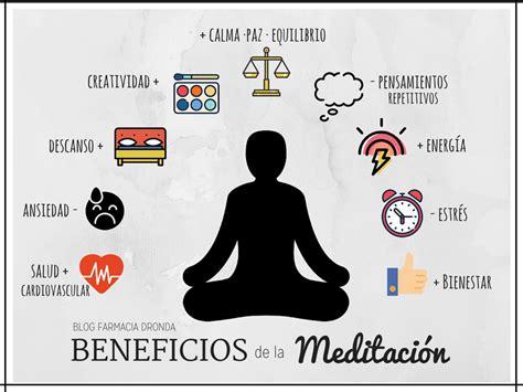 Beneficios de la meditación. Nuestra experiencia ...