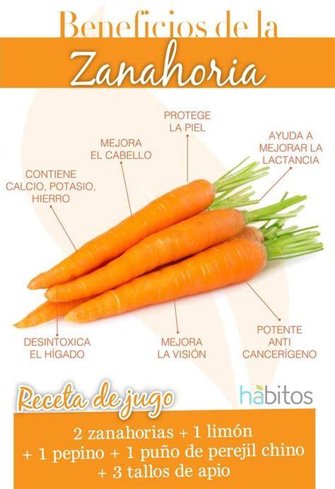 Beneficios de la zanahoria | Vida Sana | Pinterest