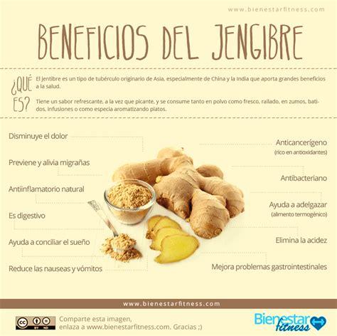 Beneficios del jengibre. Alimentos termogénicos. Bienestar ...