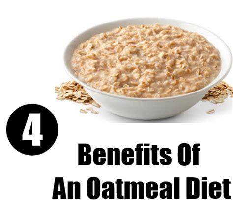 Benefits Of An Oatmeal Diet   Weight Loss Benefits Of ...