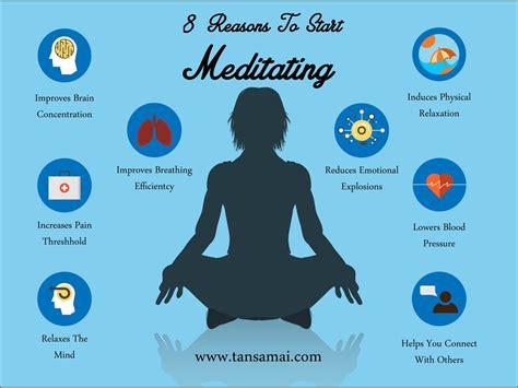 Benefits of Meditation Infographic
