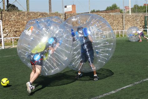 Benidorm Bubble Football | You will have a bubble in this ...
