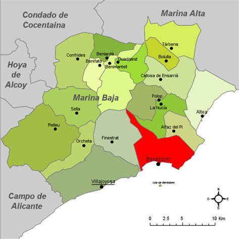 Benidorm Mapa | threeblindants.com