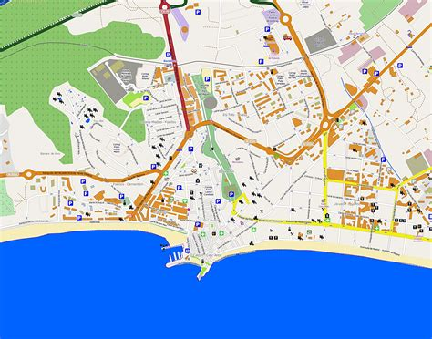 Benidorm - plan de la ciudad   Mapas imprimidos de ...
