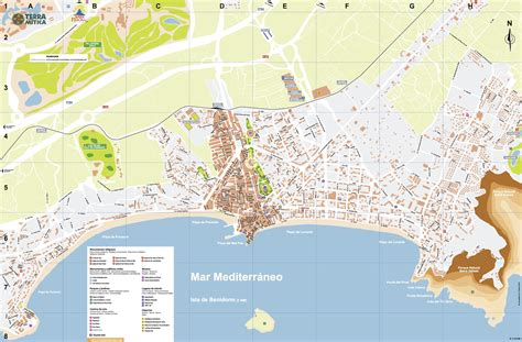 Benidorm Spain Map Images - Reverse Search