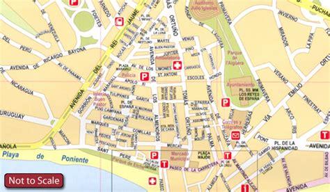 Benidorm Street Map   My Blog