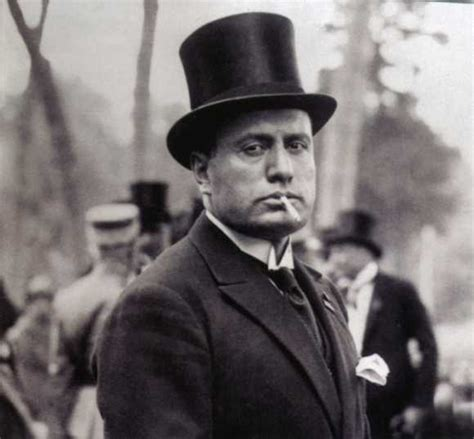 Benito Mussolini fue actor en Hollywood - Regeneración