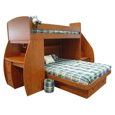 Berg Furniture Sierra Space Saver Twin over Full Loft Bed ...