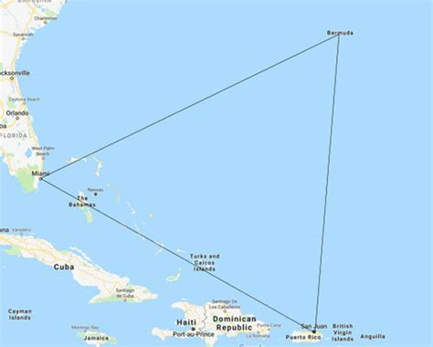 Bermuda Triangle MAP: Where is the Bermuda Triangle? Why ...