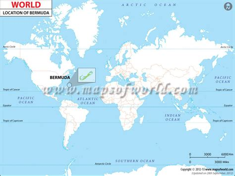 Bermuda World Map – nextread.me