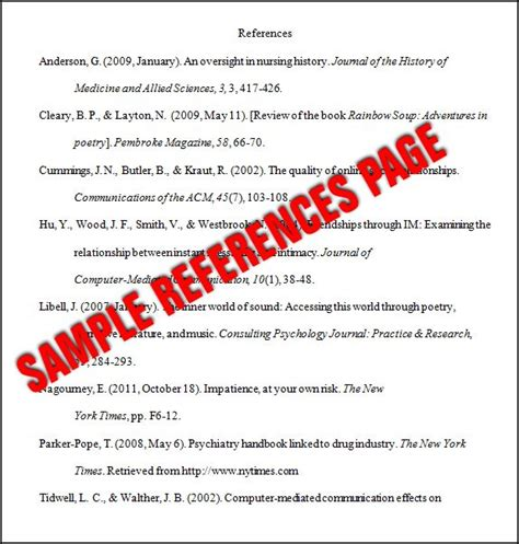 Best 25+ Apa format reference page ideas on Pinterest ...
