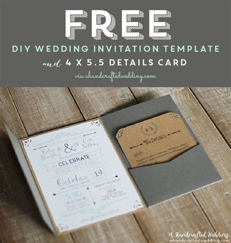 Best 25+ Free printable wedding invitations ideas on ...