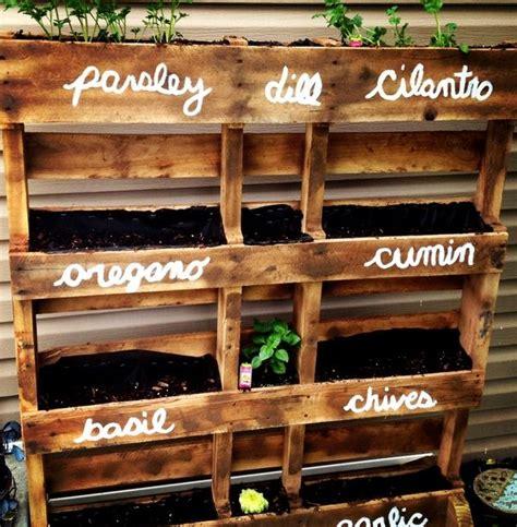 Best 25+ Herb garden pallet ideas on Pinterest | Pallet ...