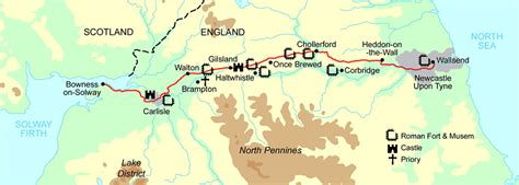 Best Hadrian's Wall walk & best views guide: Path from ...