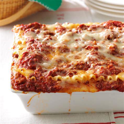 Best Lasagna Recipe   Taste of Home