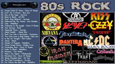Best of 80s Rock   80s Rock Music Hits   Greatest 80s Rock ...