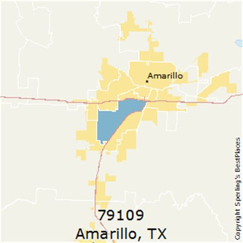 Best Places to Live in Amarillo  zip 79109 , Texas