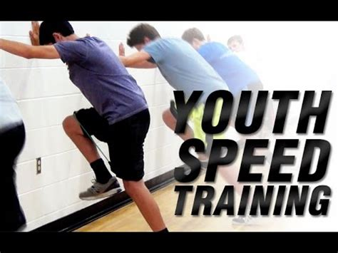 Best Youth Speed Training Drill | Youth Speed Training ...