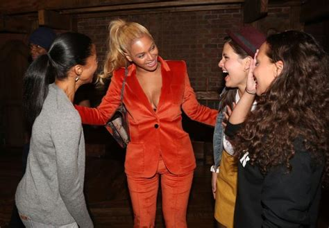 Beyonce and Jay Z check out Broadway hit musical  Hamilton ...