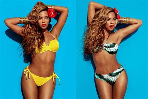 Beyonce en Bikini para la Revista H&M   Conciertos y ...