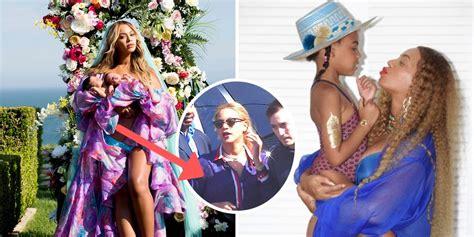 Beyoncé es captada por primera vez junto a sus gemelos ...