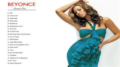 Beyoncé Greatest Hits - Beyoncé Best Songs - YouTube
