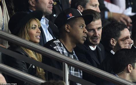 Beyonce, Jay Z and David Beckham watch PSG s Champions ...