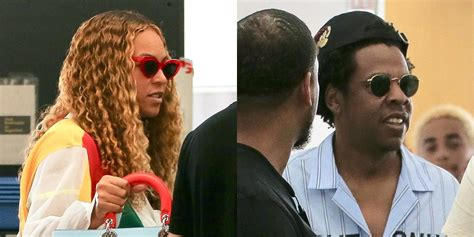 Beyonce & Jay Z Arrive in Barcelona for 'On the Run II ...