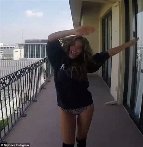 Beyonce's 7/11 music video shows her in skimpy underwear ...