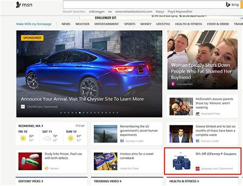 Beyond Search: Bing Native Ads Launch In Beta Across MSN ...