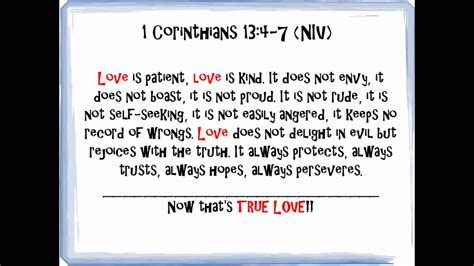 Bible Quotes On Love - Pt.1 of Bible Verses On Love - YouTube