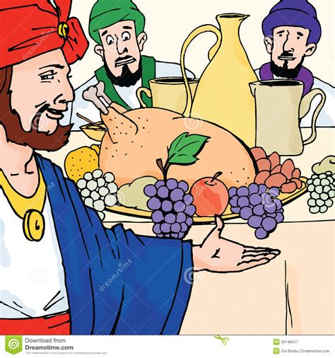 Bible Stories - The Parable Of The Wedding Banquet Stock ...