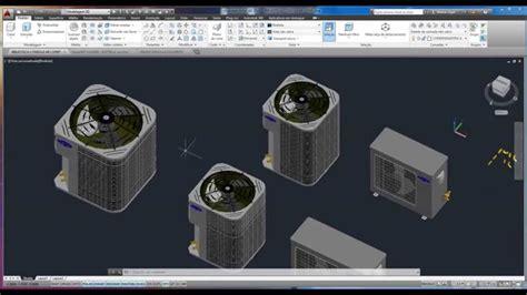 Biblioteca 3D Bloco de Vaporadoras e Condensadoras Space ...