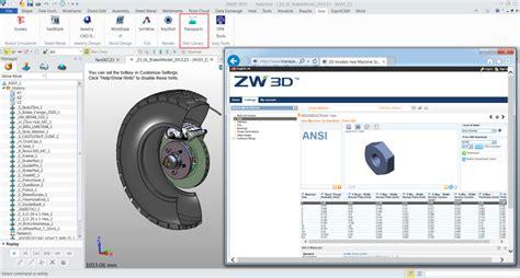 Biblioteca CAD 3D TraceParts per ZW3D   Garr 8