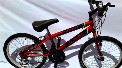 Bicicleta Rin 20 todo terreno 18 cambios para niños hasta ...