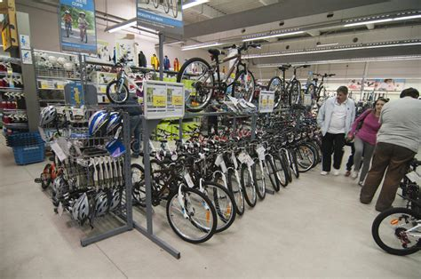 Bike Area In Decathlon Store Editorial Photo - Image of ...