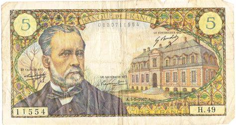 Billet de 5 francs Pasteur   Wikiwand