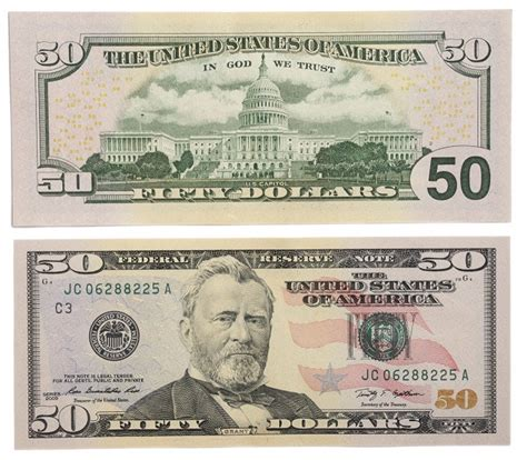 Billete de 50 dólares - Billete Nuevo