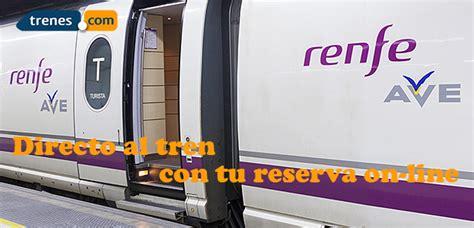 Billetes AVE Baratos, Compra Billetes de AVE - Trenes.com