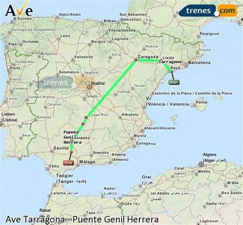 Billetes Ave Tarragona Puente Genil Herrera