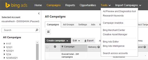 Bing Ads Gets a New Look and New Features for Improved ...