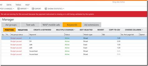 Bing Ads Starts Allowing Keyword Variations Once Flagged ...