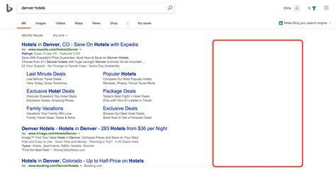 Bing Removes Sidebar Ads in Search Results | Screen Pilot
