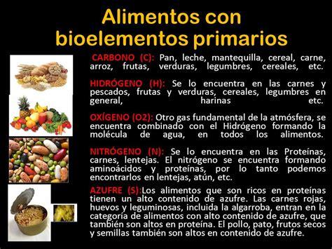 BIOELEMENTOS Los elementos de la vida. Todos los seres ...