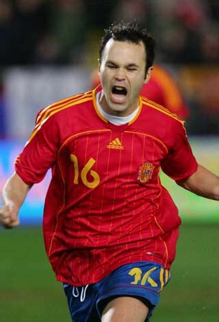 Biografía de Andrés Iniesta | Blog Futbol90