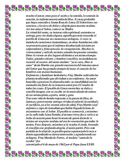 Biografia de fray martin de porres