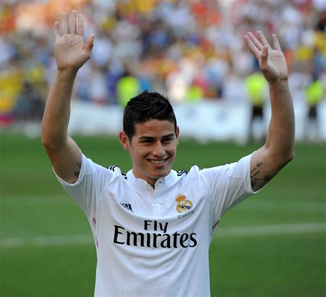 biografia de james rodriguez: james en el real madrid