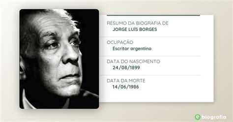 Biografia de Jorge Luís Borges   eBiografia